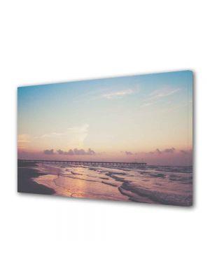 Tablou Canvas Peisaj Ponton pe ocean