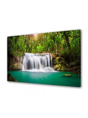 Tablou Canvas Peisaj Cascada in jungla