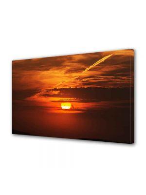 Tablou Canvas Luminos in intuneric VarioView LED Peisaj Soare epuizat