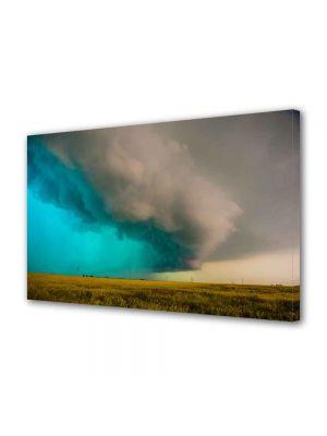 Tablou Canvas Luminos in intuneric VarioView LED Peisaj Furtuna