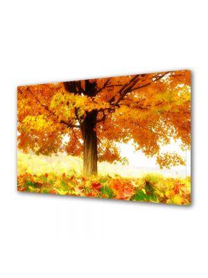 Tablou Canvas Luminos in intuneric VarioView LED Peisaj La umbra copacului
