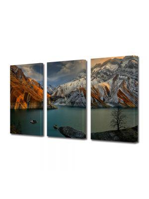 Set Tablouri Multicanvas 3 Piese Peisaj In port