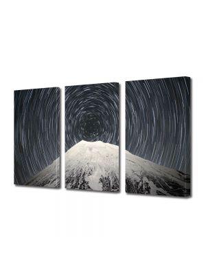 Set Tablouri Multicanvas 3 Piese Peisaj Spirala