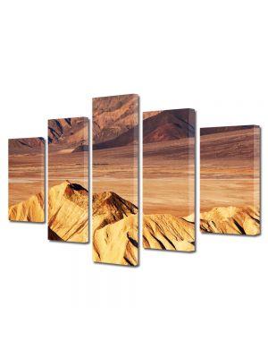 Set Tablouri Canvas 5 Piese Peisaj Dune de nisip