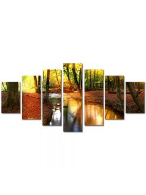 Set Tablouri Multicanvas 7 Piese Peisaj Parau