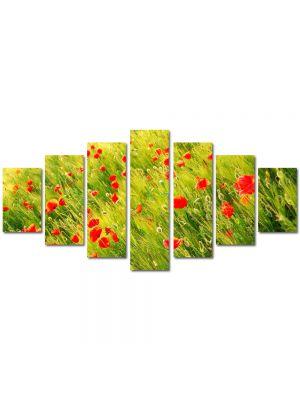 Set Tablouri Multicanvas 7 Piese Peisaj Maci