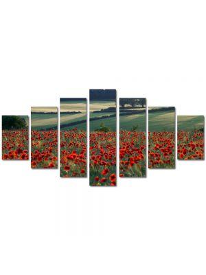 Set Tablouri Multicanvas 7 Piese Peisaj Maci la orizont