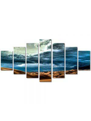 Set Tablouri Multicanvas 7 Piese Peisaj Cer peste desert