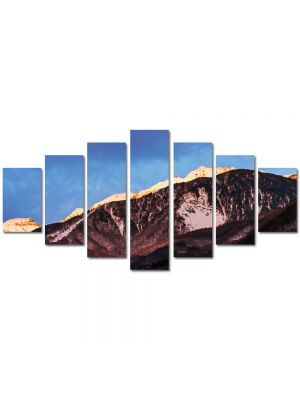 Set Tablouri Multicanvas 7 Piese Peisaj Munti maro