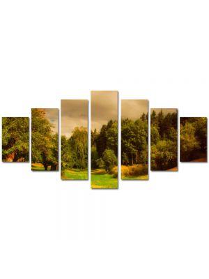 Set Tablouri Multicanvas 7 Piese Peisaj Depresiune