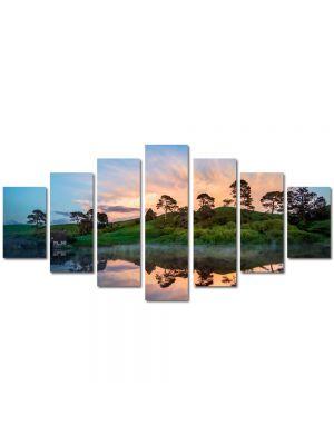 Set Tablouri Multicanvas 7 Piese Peisaj Olginda perfecta