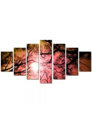Set Tablouri Multicanvas 7 Piese Peisaj Crengute