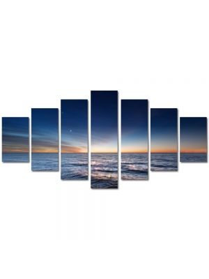 Set Tablouri Multicanvas 7 Piese Peisaj Degrade