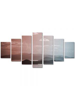 Set Tablouri Multicanvas 7 Piese Peisaj Insulite