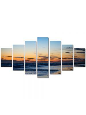 Set Tablouri Multicanvas 7 Piese Peisaj Plaja pustie