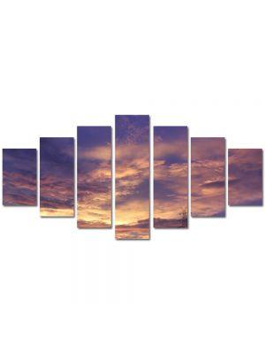 Set Tablouri Multicanvas 7 Piese Peisaj Nori
