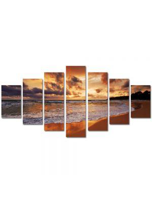 Set Tablouri Multicanvas 7 Piese Peisaj Valuri