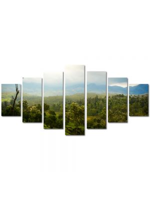 Set Tablouri Multicanvas 7 Piese Peisaj Vietnam