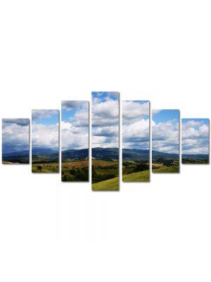 Set Tablouri Multicanvas 7 Piese Peisaj Viata la tara