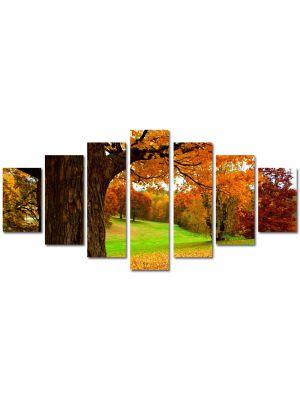 Set Tablouri Multicanvas 7 Piese Peisaj Covor aramiu