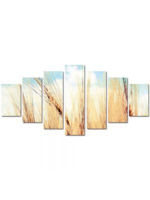 Set Tablouri Multicanvas 7 Piese Peisaj Paie