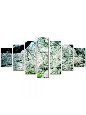 Set Tablouri Multicanvas 7 Piese Peisaj Peisaj de primavara