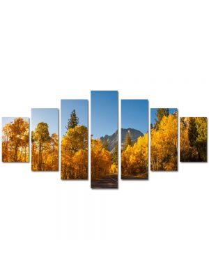 Set Tablouri Multicanvas 7 Piese Peisaj Prin Canada