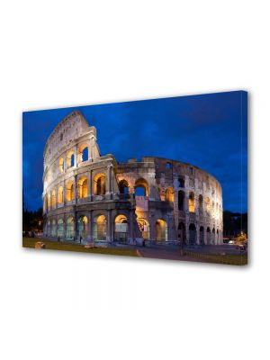 Tablou Canvas Luminos in intuneric VarioView LED Urban Orase Colosseum Roma