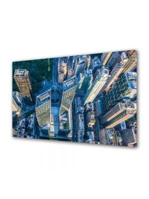Tablou VarioView MoonLight Fosforescent Luminos in Urban Orase New York de sus