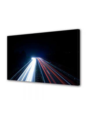 Tablou VarioView MoonLight Fosforescent Luminos in Urban Orase Lumini pe autostrada