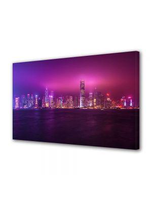 Tablou VarioView MoonLight Fosforescent Luminos in Urban Orase Hong Kong China