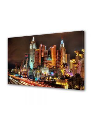 Tablou VarioView MoonLight Fosforescent Luminos in Urban Orase Las Vegas Nevada SUA