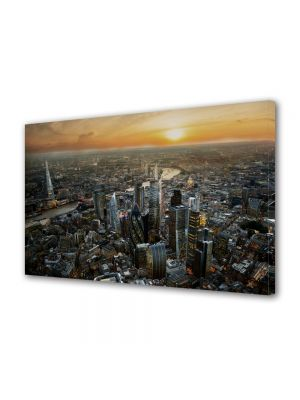 Tablou Canvas Luminos in intuneric VarioView LED Urban Orase Londra Regatul Unit