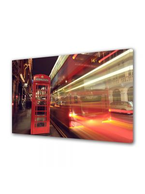 Tablou VarioView MoonLight Fosforescent Luminos in Urban Orase Cabina telefonica in Londra