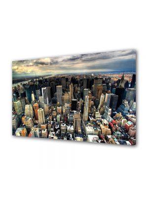 Tablou Canvas Manhattan New York 40 x 60 cm - 62% reducere