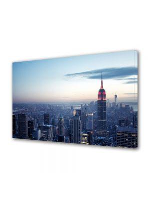 Tablou Canvas Apus de iarna in New York