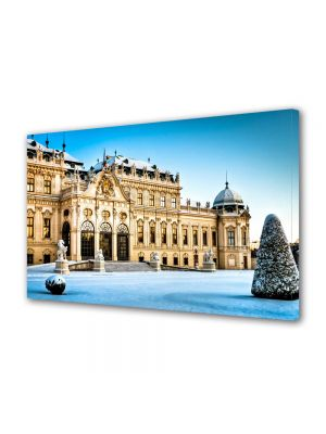 Tablou VarioView MoonLight Fosforescent Luminos in Urban Orase Palatul Belvedere Viena Austria