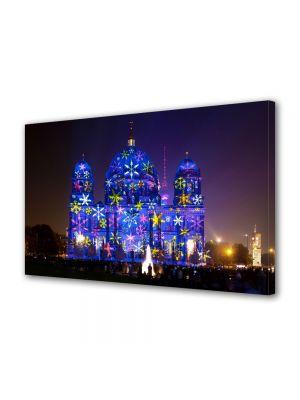 Tablou VarioView MoonLight Fosforescent Luminos in Urban Orase Catedrala in Berlin