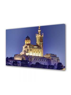Tablou VarioView MoonLight Fosforescent Luminos in Urban Orase Notre Dame Franta