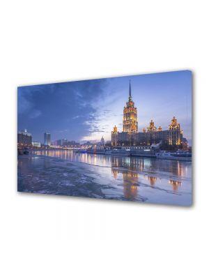Tablou VarioView MoonLight Fosforescent Luminos in Urban Orase Hotel Radisson Moscova Rusia