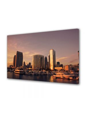 Tablou VarioView MoonLight Fosforescent Luminos in Urban Orase San Diego