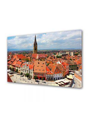 Tablou VarioView MoonLight Fosforescent Luminos in Urban Orase Panorama Sibiu