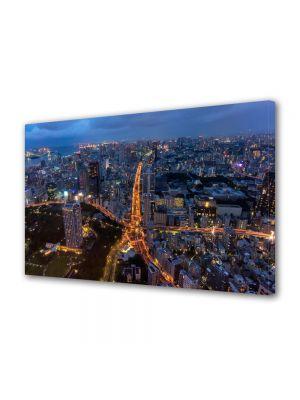Tablou VarioView MoonLight Fosforescent Luminos in Urban Orase Intersectie stea
