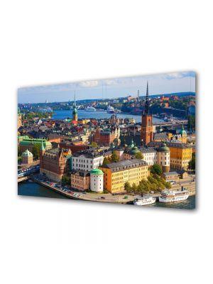 Tablou VarioView MoonLight Fosforescent Luminos in Urban Orase Stockholm Suedia