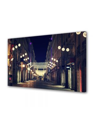 Tablou VarioView MoonLight Fosforescent Luminos in Urban Orase Strazile orasului in noapte