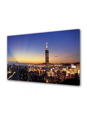 Tablou VarioView MoonLight Fosforescent Luminos in Urban Orase Taipei