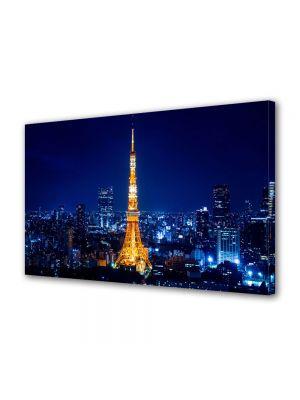 Tablou Canvas Turnul Tokyo Noaptea