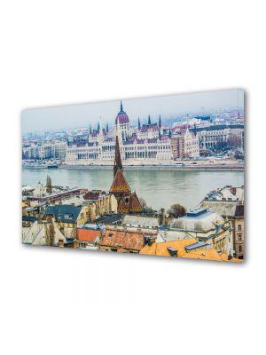 Tablou Canvas Dunarea in Budapesta