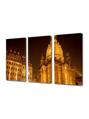 Set Tablouri Multicanvas 3 Piese Dresden Germania
