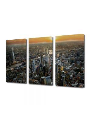 Set Tablouri Multicanvas 3 Piese Londra Regatul Unit